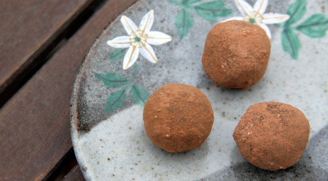 Chocolate Truffles by a Former Mechanic