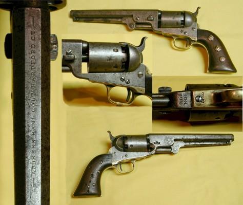 Colt pistol, 1851