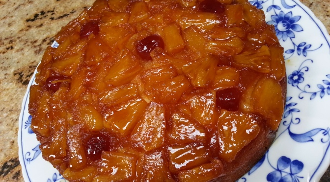 Pineapple Upside Down Cake from Scratch, Anyone?