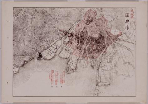 HiroshimaBombingMap