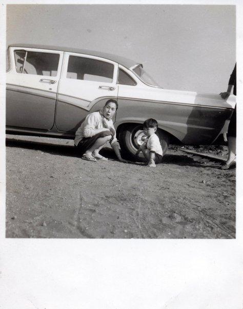 Enoshima Beach, Tokyo - April 1957