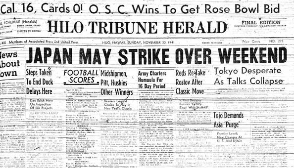 HTH Nov 30 1941