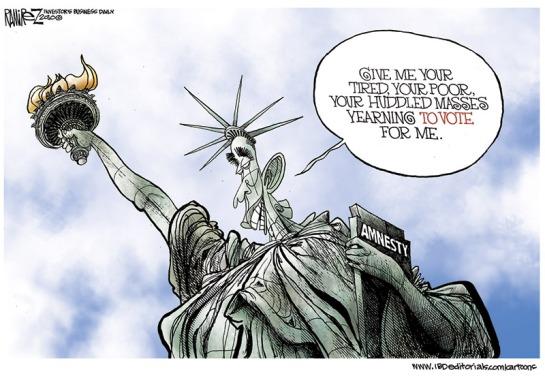 michael-ramirez-obama-as-statue-of-liberty-amnesty
