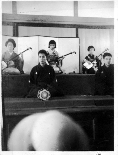 Showa 14 Aki - Fall 1939 / Grandma in center, Aunt Eiko on right