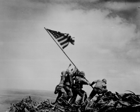 genaust unedited iwo-jima-flag-raising-xl