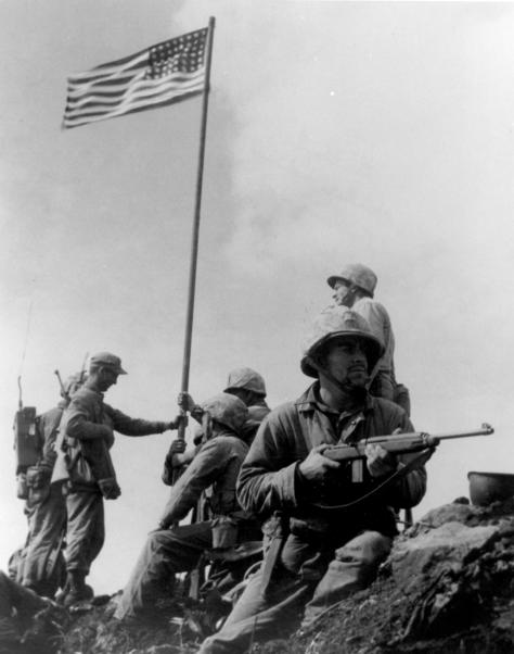 genaust usmc First_Iwo_Jima_Flag_Raising