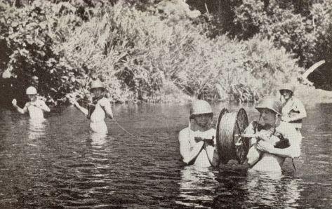 Op grad Guadalcanal Lunga_River