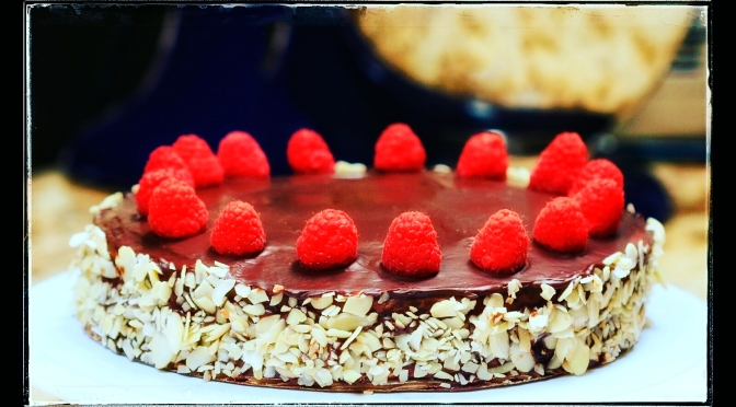 My Brazen Attempt at a Chocolate-Raspberry Torte From Scratch