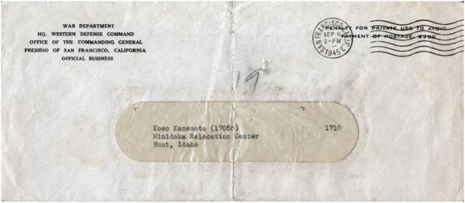 The Letter from 1945
