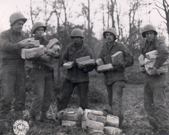 WWII – Packages from Home